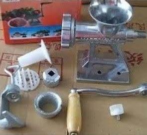 Harga Mesin Penggiling Ikan Manual harga mesin penggiling daging manual untuk rumah tangga