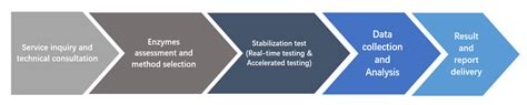 Shelf Accelerated Stability Testing by Enzyme Stabilization Enzyme Formulation Stability Test