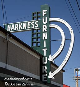Harkness Furniture Tacoma by Roadside Peek Other Roadside Signage Pacific Northwest 5