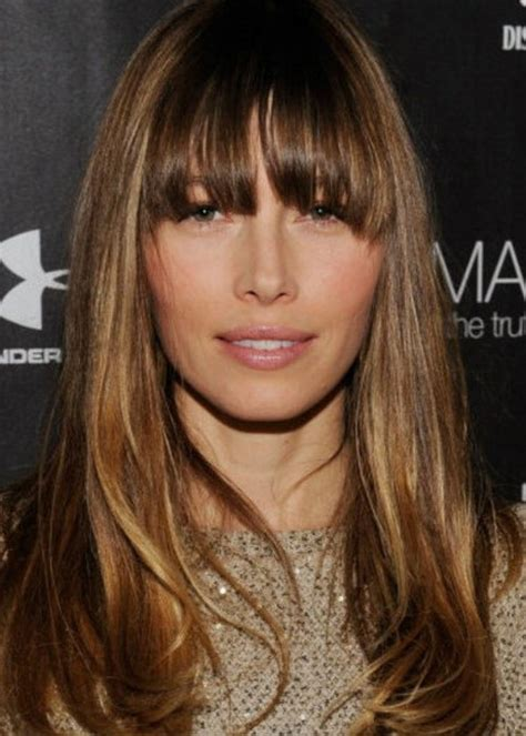 Hairstyles With Bangs 2014 by Medium Length Hairstyles With Bangs 2014
