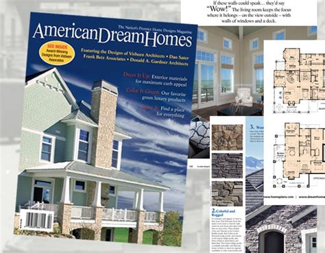 american dream homes magazine 17 best images about house plan magazines on pinterest