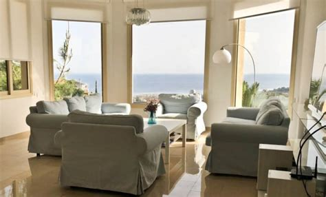 bedroom sea view house  rent  ayios tychonas limassol