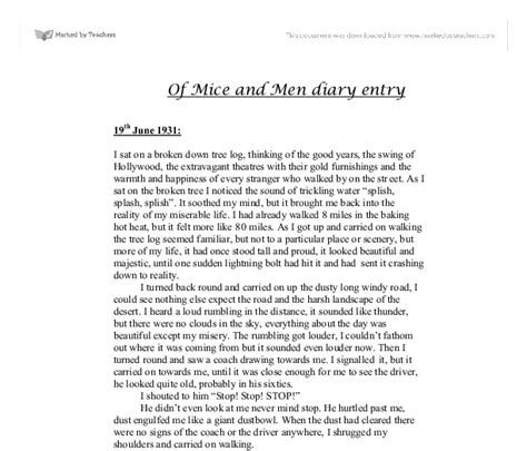 Of Mice And Crooks Essay by Creative Writing Competitions For Undergraduates Research Paper About Global Warming Tagalog