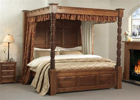 post bed four poster bed balmoral from revival beds