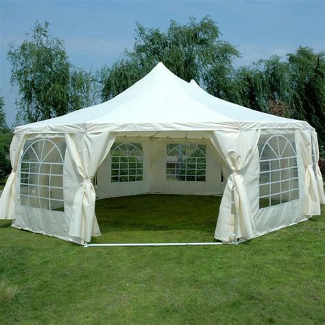 Backyard Marquee by Quictent Large Deluxe Wedding Tent Marquee 9 X 6 5m