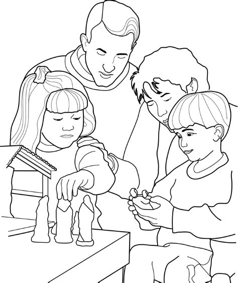 coloring pages of nativity scene lds the church of jesus christ of latter day saints