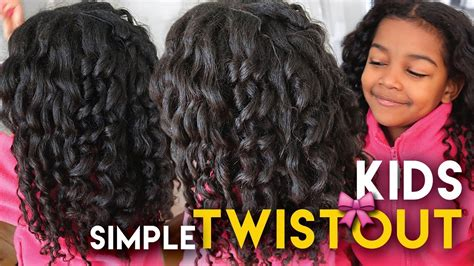 fussy kids drama  natural hairstyle  quick