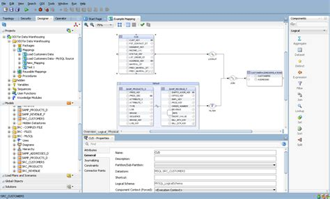 design editor oracle 11 creating and using mappings