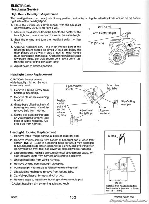 wiring diagram polaris sportsman manuals - Wiring Diagram
