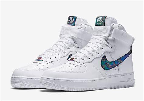 Bn0243 Nike Air One High 1 Nike Air 1 High Lv8 Iridescent Sneaker Bar Detroit