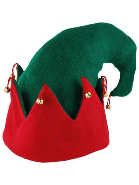 adult elf hat red green christmas hats wholesale