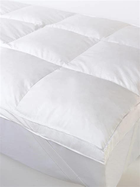 Feather Mattress Topper Single by Single Luxury 3 Quot Feather Mattress Topper From Litecraft