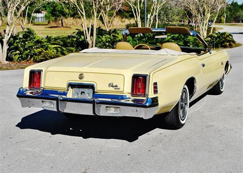 Chrysler Cordoba For Sale by 1977 Chrysler Cordoba Convertible For Sale 5 For Sale