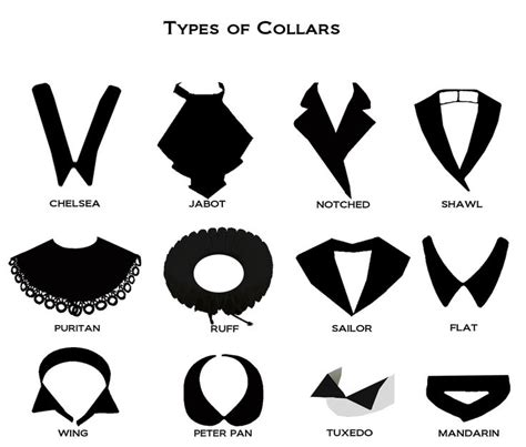 fashion collar different types of collars fashion sizzle fashion turn to the left