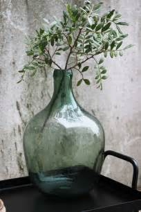 Glass Jars And Vases by 25 Best Ideas About Green Glass Bottles On