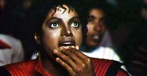Michael Jackson Eating Popcorn Meme - mj popcorn happy birthday michael jackson thriller memes