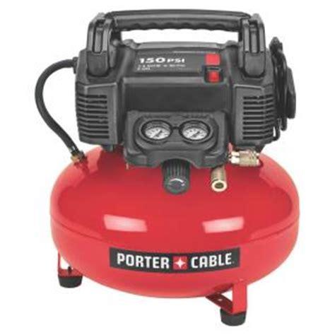 porter cable 6 gal 150 psi portable air compressor c2002