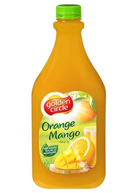 Egg Tree Fruit - orange mango juice 2 litres golden circle