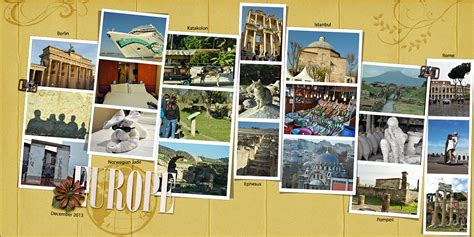 scrapbook layout ideas for travel ideas for scrapbooking travel with a layout that