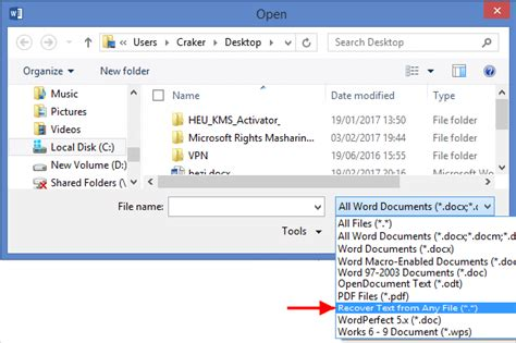 Search For A Word In Word Document