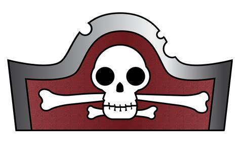 pirate template pirate hat template for