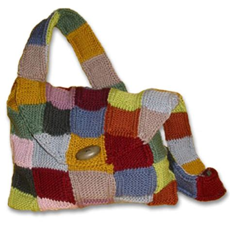 knitted bag kits how to knit a purse