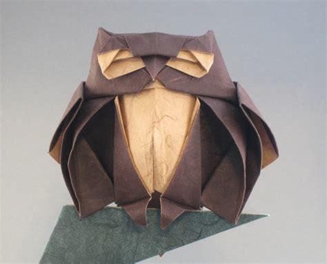 Easy Owl Origami - ikuzo origami part 6