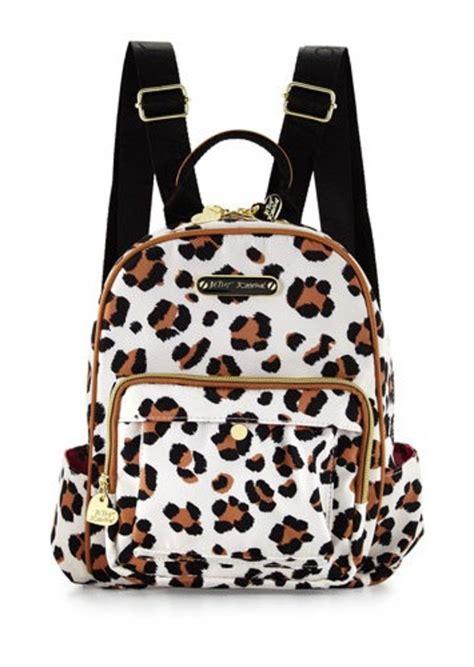Leopard Print Backpack betsey johnson leopard backpack betsey johnson mighty