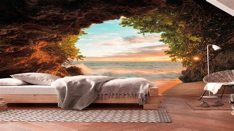 creative 3d wall mural ideas scenery wallpaper design