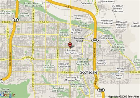 us map scottsdale arizona map of fairfield inn scottsdale scottsdale
