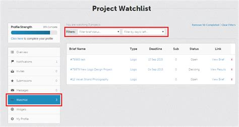 designcrowd delete account what is the watchlist feature on designcrowd and how does