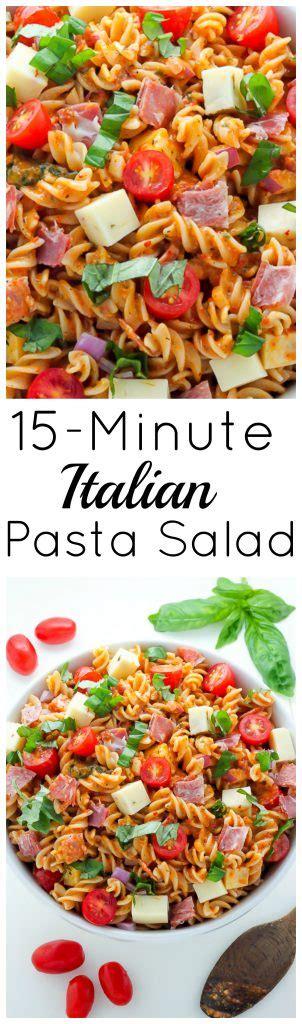 15 minute italian books 15 minute italian pasta salad baker by nature