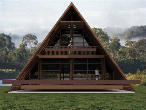 Wood House Plans by Best 25 Triangle House Ideas On Bamboo House