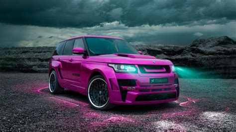 Pink Range Rover Vogue 2013 Hd Wallpaper Wallpaperfx