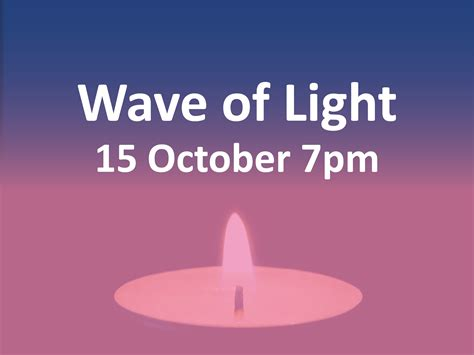 Wave Of Light by Get Involved With Baby Loss Awareness Week Baby Loss Awareness Week Website