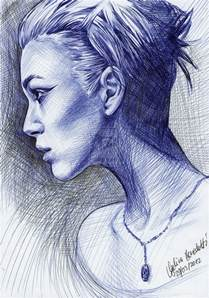 keira knightley ballpoint pen by angelinabenedetti ball