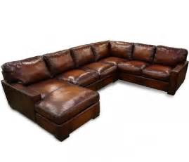 Best Leather Sectional Sofa Napa Maxwell Oversized Seating Leather Sectional Collier S Furniture Expo