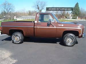 1979 chevy bed 4x4 only 2 owners 350 v8 4spd a c rust