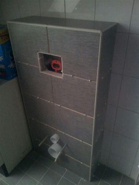 wc ombouw tegelen kitten en voegen ombouw zwevend toilet
