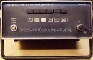 pattern generator in tv pal tv pattern generator pm5501 equipment philips eindhoven