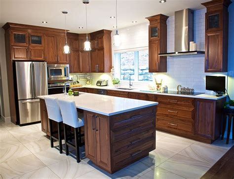 cuisine et comptoir les 25 meilleures id 233 es concernant comptoirs de quartz sur