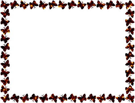 butterfly pattern png clipart butterfly frame patterned