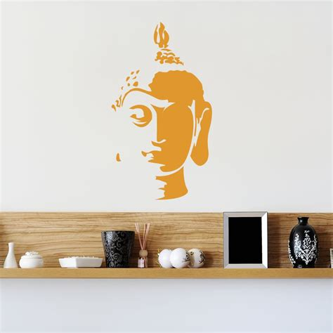 buddha wall sticker buddha wall sticker decal ebay