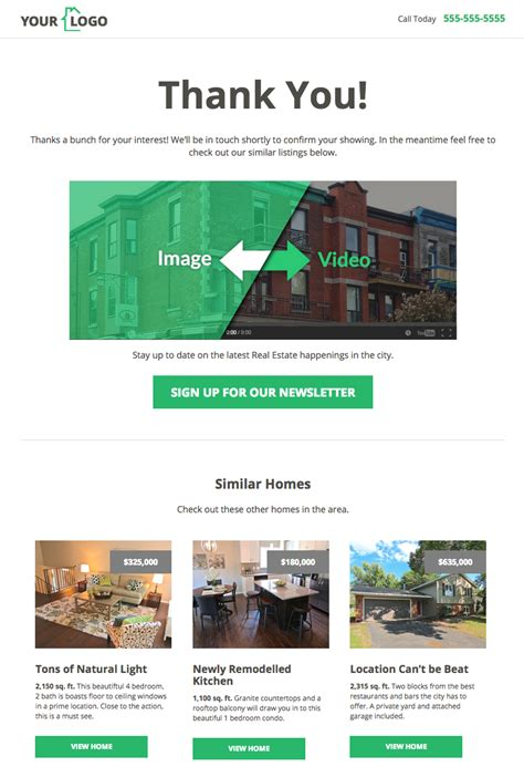 thank you page template 10 ways to use leadpages for real estate social chefs