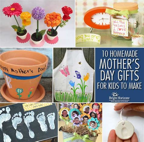 Mothers Day Handmade Gifts - grandmother gifts from bright horizons
