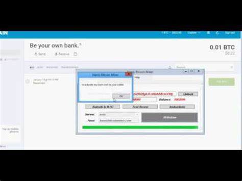 Software Mining Bitcoin by Harris Bitcoin Miner Software Earn Up To 1 Btc Daily For