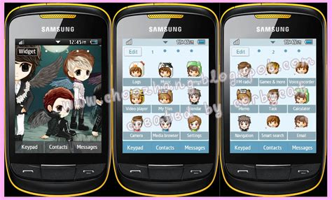 hello kitty themes corby 2 download choozhang corby cat samsung corby 2 or s3850 shinee