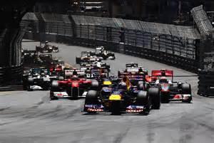 f1 monaco grand prix results bull racing motor