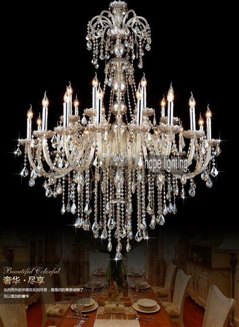 Hotel Chandeliers Luxurious European Style Lighting Large Chandeliers Contemporary Lighting Big