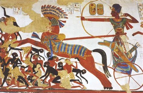 Ancient Egyptian Wall Murals sports in ancient egypt
